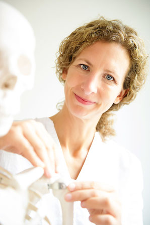 Osteopathin und Physiotherapeutin Catrin Kreipe in Soltau.