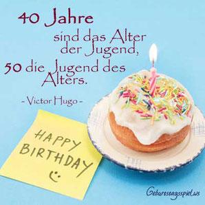 Sprüche für Glückwünsche zum 40. Geburtstag