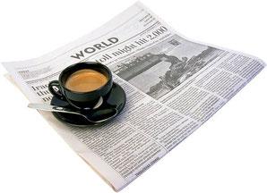 Kaffee trinken, Feierabend geniessen