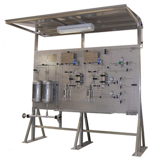Liquid sampling - Mechatest Liquid Sampling Solution Rack System - closed sampling Hydrocarbon liquids - Dopak DPM