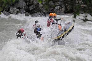 PowerRaft Imster Schlucht Rafting Ötztal Tirol