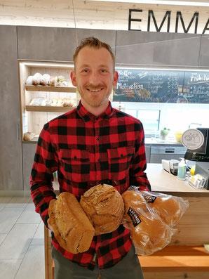 Hier eine Auswahl der Brote & Produkte die es bei uns gibt.