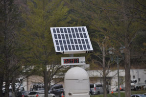 放射能測定器、福島だ