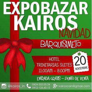 ExpoBazar Kairos - Edición Pre Navideña