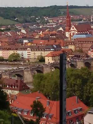 Ausblick auf die Alte Mainbrücke