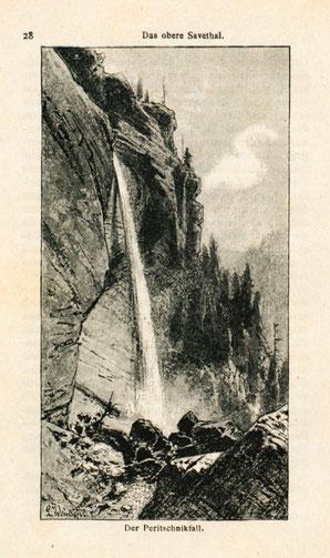 Der Peritschnikfall im Jahre 1889
