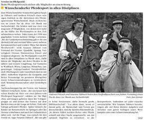 Bild: Wünschendorf Chronik 2011