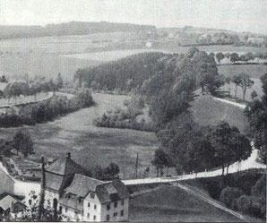 Bild: Teichler Wünschendorf Erzgebirge Damm-Mühle Wünschendorf 1940