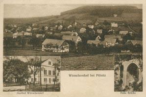 Bild: Wünschendorf Teichler Dürrröhrsdorf-Dittersbach Erzgebirge Sachsen
