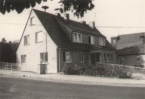 Bild: Teichler Wünschendorf Erzgebirge Rathaus 1970