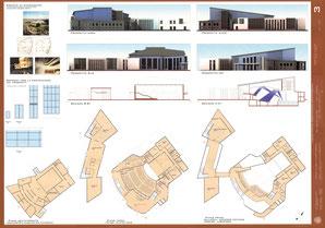 Laboratorio di Progettazione Architettonica e Urbana, prof. Pugliese, Scuso, Dessi