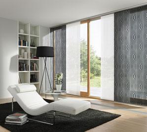Flächenvorhang, Vorhangfachgeschäft, Vorhänge by Ruoss, Innenbeschattung
