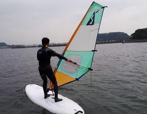 ウインドサーフィン SUP スクール 初心者 体験 神奈川 横浜 海の公園 スピードウォール speedwall