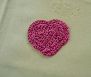 Un petit coeur de crochet