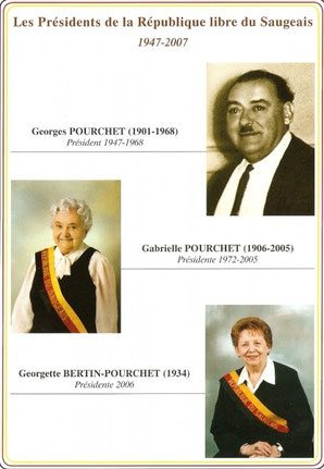Les Présidents de la République libre du Saugeais 1947-2007