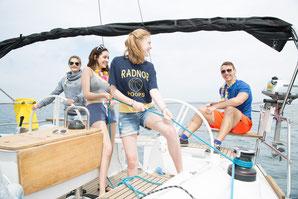 Aktiv mitsegeln bei Yacht-Urlaub