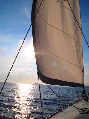 Segeln mit Yacht-Urlaub