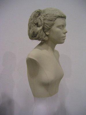 Busto vestible, para el Museo del Traje