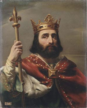 La légitimité du règne de Pépin le Bref et de la dynastie carolingienne est assurée par le sacre royal. Les papes Zacharie et Etienne II soutiennent Pépin le Bref. C'est l'alliance du trône et de l'autel, l'union du sabre et du goupillon.