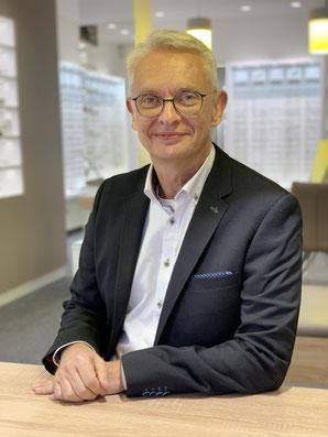 Jürgen Lüth, Geschäftsführer beim GlasHaus - dem optiker
