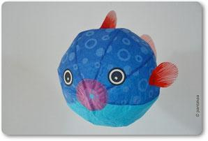 Bildhübsch und freundlich: Kamifusen Kugelfische aus Reispapier