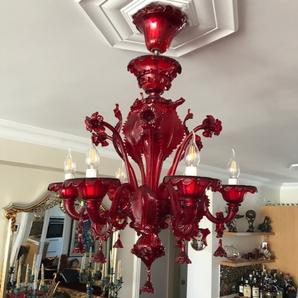 red-muranoglass-chandeliers