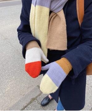Fäustlinge stricken leicht gemacht-strickset Nordsee Fäustlinge von PetiteKnit