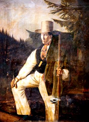 Portrait de Mathieu Brachet avec l'autorisation de Marcel Monnier