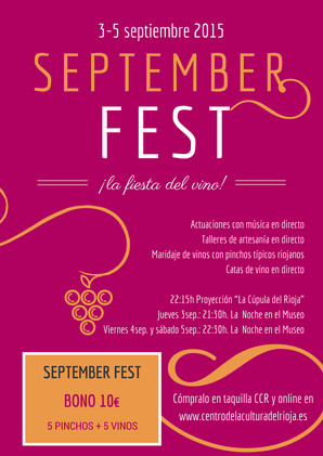 September Fest en Logroño 2015