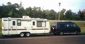 Der Sunline-Wohnwagen