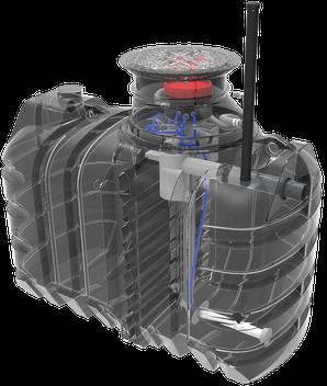 assainissement individuel autonome avec micro station