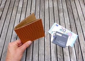 Herrengeldbeutel / Cardholder - ab € 54,-- -       auch für Damen !