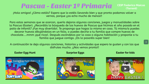 Pascua - Easter (1º Primaria)