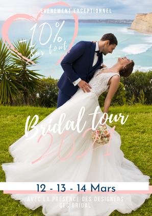 Bridal Tour 2021 Yerville 12, 13 et 14 Mars 2021