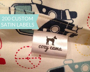 Étiquette personnalisée par Labelicious