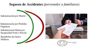Seguros de Accidentes, Personales o Familiares, Indemnización y Rembolso