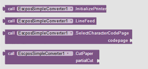 ESC/POS Simple Converter - App Inventor Daniel