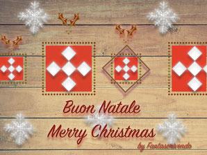 Immagine cartolina auguri di Natale