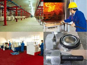 ステンレス管継手工場( 中国河北省)