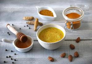 Bénéficiez des propriétés du curcuma - recette du Lait d'Or par Sylvie de l'atelier Shanti