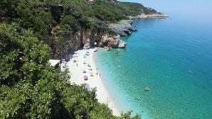 Tai Chi und Qi Gong Ferienkurse, Urlaubsseminare mit Karina Berg, Ausflug im Pilion, Griechenland, Milopotamos
