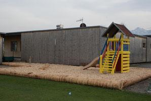 Der Spielplatz wurde kürzlich fertig renoviert. © F. Hepberger