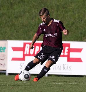 Mathias Bechter traf gegen Fussach zum 1:1. © Hepberger