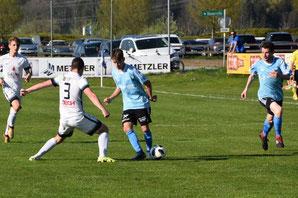 Mit Verstärkung aus der Vorarlberger AKA U18 Mannschaft gab es ein 3:3. © Marte