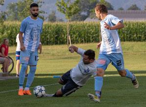 Mirko Lepir traf beim Auswärtsspiel in Bürs gleich doppelt. © FH