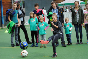 Der SK Brederis ist beim Familiensporttag in Rankweil vertreten.