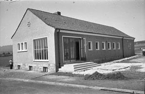 Erster Schulpavillon (1952), heute Bürgerhaus