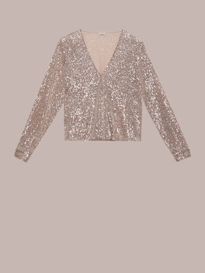 Camicia in paillettes