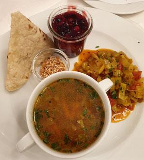 Ayurvedische Mahlzeit