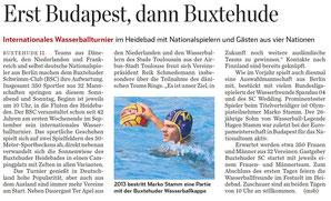 Marko Stamm: Von Budapest nach Buxtehude. Foto Jens Witte